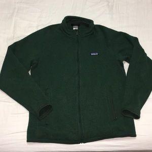 Patagonia Better Sweater Full Zip Green fleece